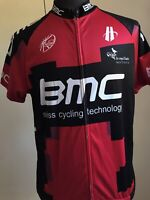 BMC Cycling Jersey Replica Swiss Cycling Technology Sz XL Key Word Castelli