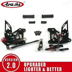 For MV AGUSTA Brutale 675 / 800 2012 - 2016 2013 Footrests Rearsets Foot Pegs