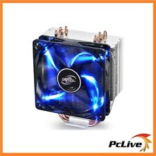 Deepcool Gammaxx 400 Cpu Cooler 4 Heat Pipes 120 Mm Pwm Led Fan