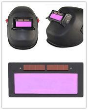 """USPS SHIP 4-1/4"""" x 2"""" solar Auto Darkening Welding Lens hood Filter Shade 3-11"""