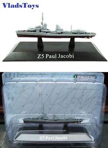 DeAgostini 1/1250 German Kriegsmarine destroyer Z5 Paul Jacobi 1936 DAKS56