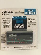 Matrix Sr-1050 Chromatic All Instrument Tuner. In original package.