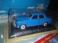 MERCEDES BENZ 180 PONTON LEGENDARY BALKAN CARS DEAGOSTINI IXO 1/43 NEUF BOITE