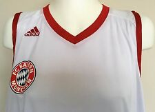 BAYERN MUNICH BASKETBALL JERSEY BY ADIDAS SIZE ADULTS XXXL TALL BRAND NEW