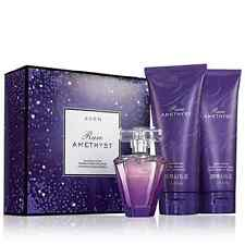 AVON RARE AMETHYST 3 PC  BOXED GIFT SET  PARFUM, SHOWER GEL, LOTION