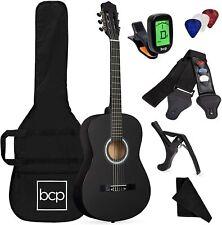 Guitarra Acustica Principiantes Estudiantes 38 Pulgadas Sintonizador Estuche Kit