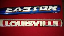 2 Softball bats Ls Tps Powerized Lisa Fernandez & Easton Cyclone Fastpitch Blue