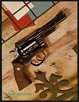 1971 RUGER Security Six Revolver Photo Page to Frame