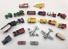 Matchbox lot + Other models Collection of 20 Trucks, Cars, Buses & Airplanes