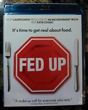 Fed Up (Blu-ray Disc, 2014) NEW Sealed - Documentary Hosted by Katie Couric