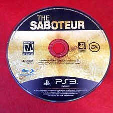 Saboteur (Sony PlayStation 3, 2009) Disc Only # 5261