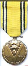 7847 - MEDAILLE COMMEMORATIVE BELGE 1940/1945