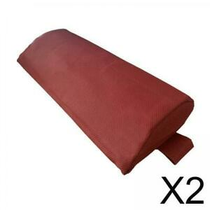2 Pieces Headrest Cushion Pillow Replacement for Lounge Chair Recliner Red