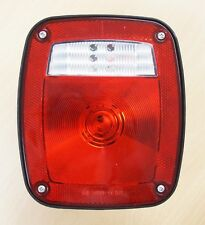 Universal Combination Signal Tail Light Truck Lite Red/clear DOT