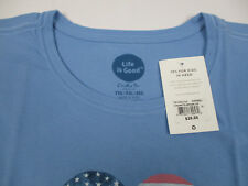 5d0e7d83348 Life Is Good Americana Love T Shirt Size Women s 2xl With Tags