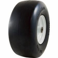 Marathon Tires Flat-Free Lawn Mower Tire - 3/4in. Bore, 13 x 6.50-6in.