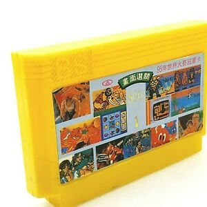 500 IN 1 Famicom Famiclone Yellow Cartridge tv console game vintage