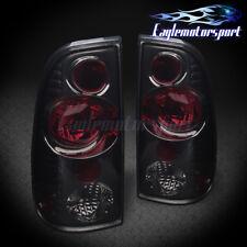 1997-2003 Ford F150/1999-2007 F250 F350 Super Duty Smoke Rear Tail Lights Pair