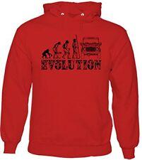 Defender Evolution - Mens Funny Hoodie Land Rover 90 120 140 4X4 Off Road Landy