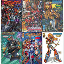 YOUNGBLOOD v2 #1-10, 14 + EXTRAS SET VF-NM
