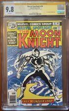 Marvel Spotlight 28 CGC 9.8 signed   1st Solo Moon Knight story   highest graded