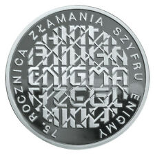 Poland / Polen 2007 - 10zl 75th Anniversary of Breaking Enigma Codes