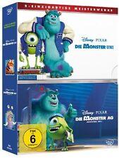 2 DVD-Box ° Die Monster AG / Die Monster Uni ° 1 & 2 ° Disney Pixar ° NEU & OVP
