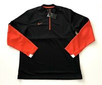 Nike Long Sleeve Polyester Run Athletic Sports Shirt Windbreaker Mens Large NEW