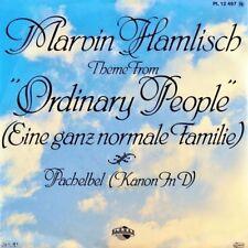 """7"""" MARVIN HAMLISCH Ordinary People OST Eine ganz normale Familie ROBERT REDFORD"""