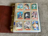 1987 Topps Baseball COMPLETE SET MINT McGWIRE BONDS JACKSON CANSECO ROOKIE RC