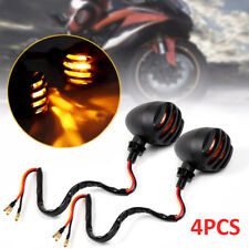 4X Motorcycle Motorbike Turn Signal Lights Indicators front rear Bulb UK