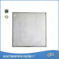16-1/2x21-5/8x1 Lifetime Air Filter Electrostatic Permanent Washable Furnace A/C