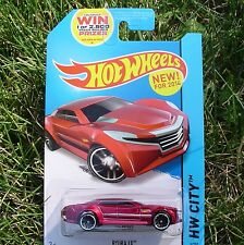 Hot Wheels. RED Ryura LX. 5/250. BDD20. NEW in Blister Pack!