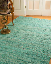 Barras Leather Rug, Crafted by Artisan Rug Makers, Imported, 8' x 10'