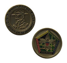 WE1-106-09 Spirit of Scouting Wood Badge Challenge Coin