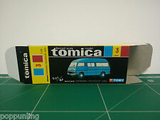 REPRODUCTION BOX for Tomica Black Box No.3 Nissan Caravan Highroof Van