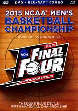 BLU-RAY 2015 NCAA Men's Basketball Championship Final Four (DVD +Blu-Ray) NEW
