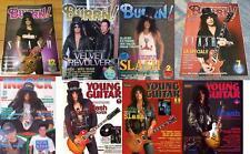 SLASH on COVER LOT of 8 Japan Magazines Guns N' Roses