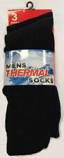 Thermal Socks AT15 Mens Boys Warm Black Size 6-11, 3 Pack Work Outdoor WInter