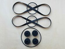 Belts kit for SONY TC-WR550Z//TC-WE505//TC-WE605S//TC-WE705S//TC-WA7ESA side A+B