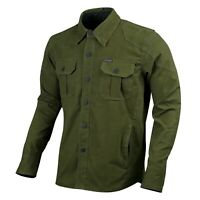 Mens Motorcycle Shirt Water Resistant Rider Jacket Made with KEVLAR - CE Armour