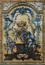 """Lady with the Coat of Arms Tapestry - Jacquard Wall Tapestry -  (150 cm / 59"""")"""
