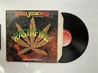 Errol Scorcher And The Revolutionaries - Rasta Fire Vinyl Album Record LP