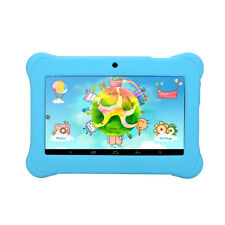 "iRULU 7"" Android 4.4 BabyPad Learning eReader Kid's Tablet PC 8GB Quad Core Blue"