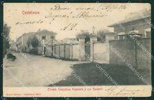 Varese Castellanza PIEGHINE cartolina QK5536