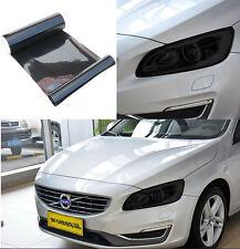 Car Headlight 100cm x 30cm Tint Vinyl Gloss black Wrap Film Sheet Decal Sticker