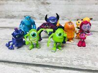 Disney Pixar Monsters Inc University Fearsome Friends Mini Figures Toys Bundle