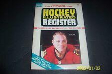 1965 66 NHL HOCKEY Register CHICAGO BLACKHAWKS Bobby HULL Gordie HOWE Crozier