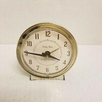 Vintage Baby Ben Westclox Wind Up Alarm Clock MCM Mid Century Modern Style