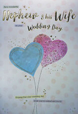 Nephew & Wife Wedding Day Card